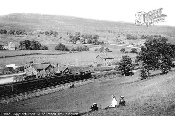 Askrigg, Railway Station 1911