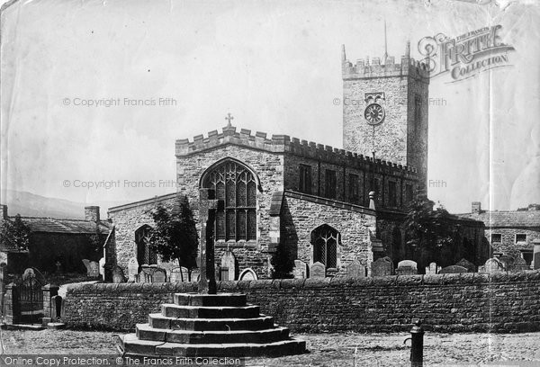Askrigg, St Oswald's Church 1887