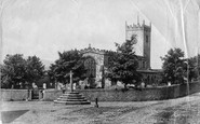 Askrigg, St Oswald's Church 1896