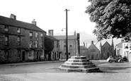 Askrigg, The Market Cross c.1955