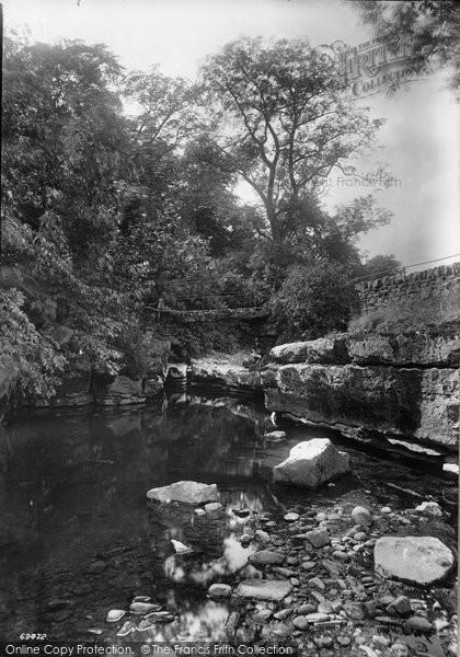 Askrigg, The Mill Bridge 1911