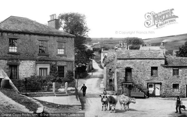 Askrigg, The Village 1906