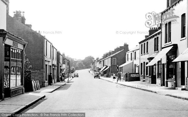 Aspatria, Queen Street c.1960