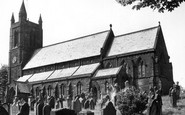 Aspatria, St Kentigern's Church c.1955