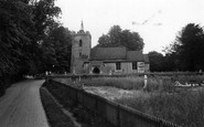 Aspenden, St Mary's Church c.1965