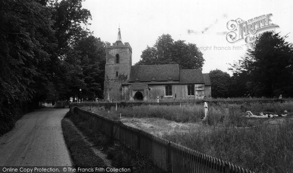 Photo of Aspenden, St Mary's Church c1965