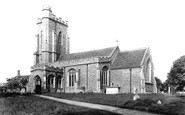 Assington, St Edmund's Church 1907
