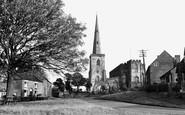 Astbury, St Mary's Church c.1955