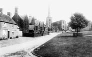Astbury, The Village And St Mary's Church 1902