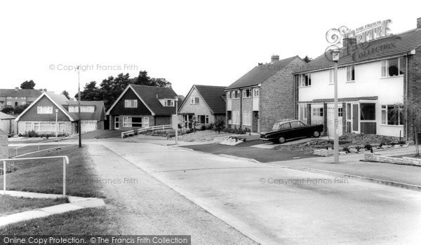 Astwood Bank, Western Hill Close c.1965