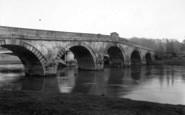 Atcham, The Bridge c.1950