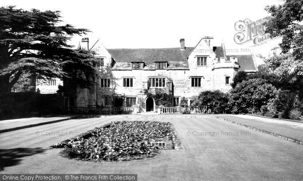 Athelhampton, Hall c.1955