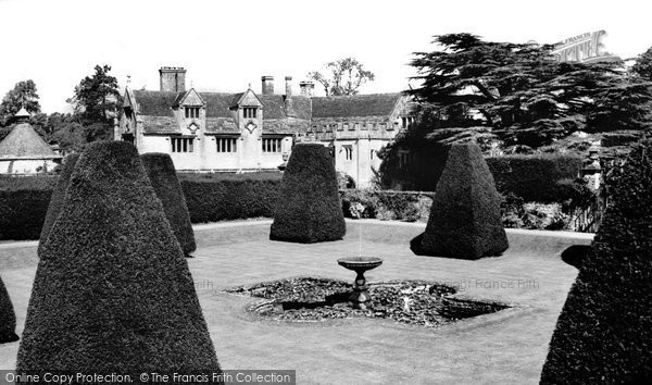 Athelhampton, The House And Dovecote From Great Terrace c.1960