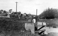 Athelney, General View Of King Alfred's Moument c.1960