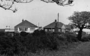 Atwick, Bungalows In Cliff Lane c.1960