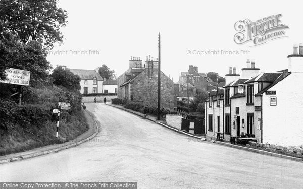 Auchencairn, Main Street From The Bridge c.1955