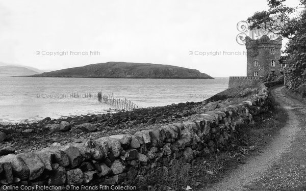 Auchencairn, The Tower And Heston Island c.1955