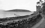 Auchencairn, The Tower And Heston Island c.1955