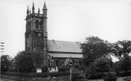 Aughton, Christ Church c.1960
