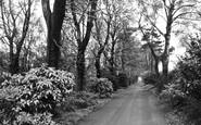 Aughton, Quarry Drive c.1955