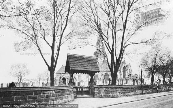 Aughton, St Michael's Church c.1955