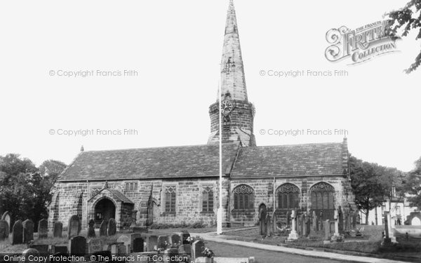 Aughton, St Michael's Church c.1955