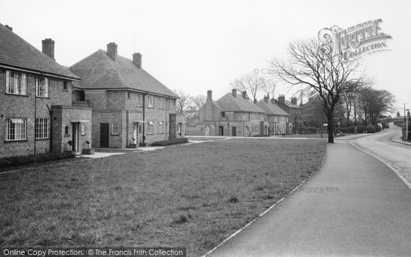 Aughton, Town Green Lane c.1950