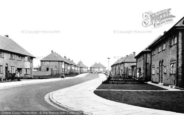 Aughton, Whalley Drive c.1955