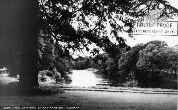 Auldgirth, The River Nith c.1960