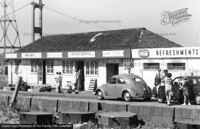 Aust, The Severn Bridge Cafe 1966