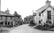 Austwick, Main Street And Post Office c.1955