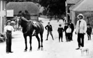 Avebury, Holding The Gentleman's Horse c.1908