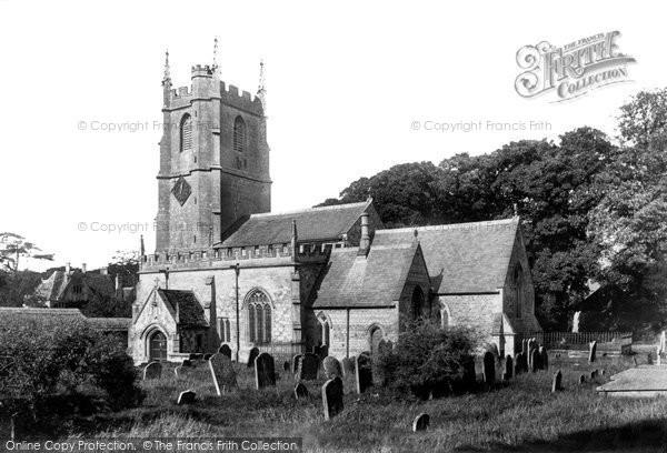 Avebury, St James' Church 1899