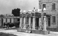 Avebury, The Petrol Pumps, Rawlin's Garage c.1945
