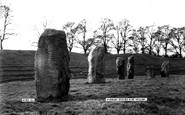 Avebury, The Stones And Vallum c.1955