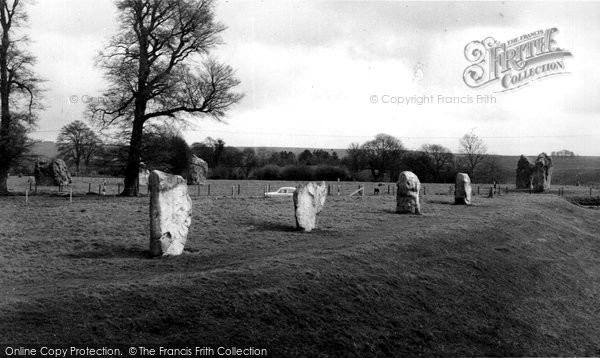Avebury, The Stones, South West Corner c.1955