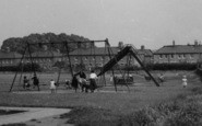 Aveley, Children In The Playground c.1955