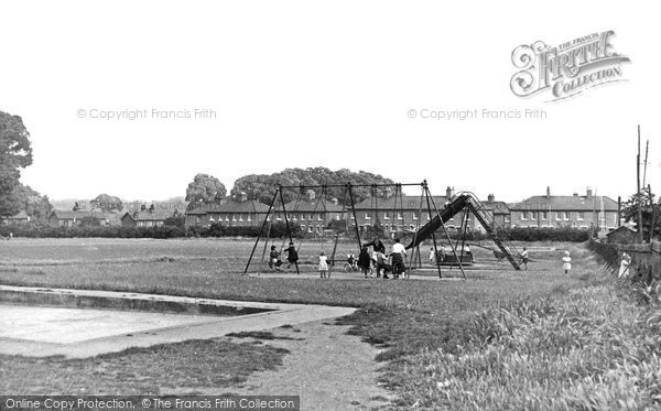 Photo of Aveley, Children's Playground c1955