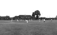 Aveley, Cricket Pitch c.1955