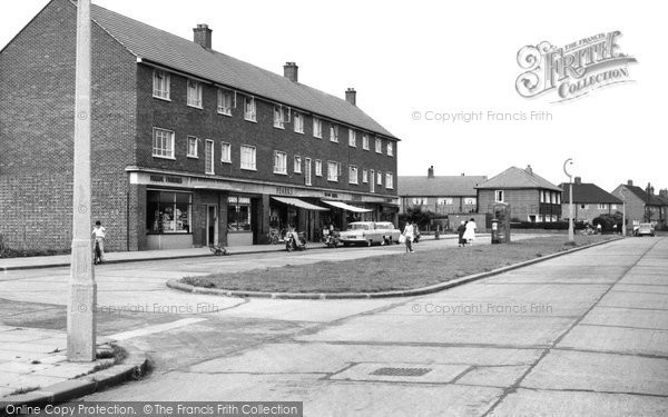 Aveley, Hall Road c.1960
