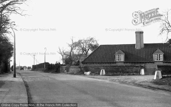Aveley, Mill Road c.1955