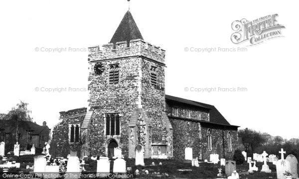 Aveley, St Michael's Church c.1955