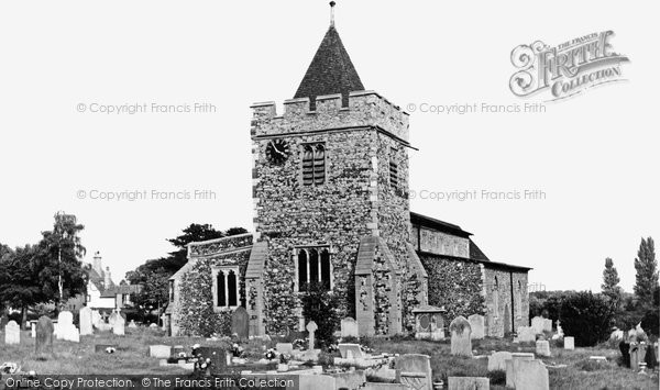 Photo of Aveley, St Michael's Church c1960