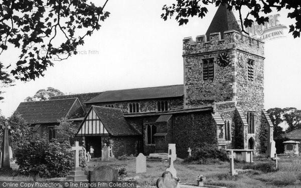 Aveley, St Michael's Church c.1960