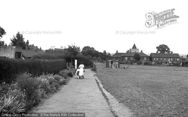 Aveley, The Recreation Ground c.1955