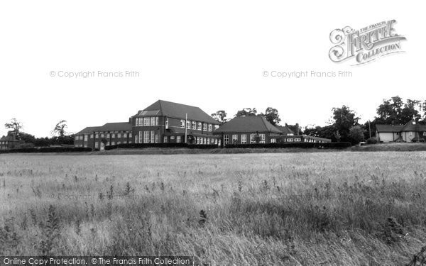 Photo of Aveley, the School, Ship Lane c1960