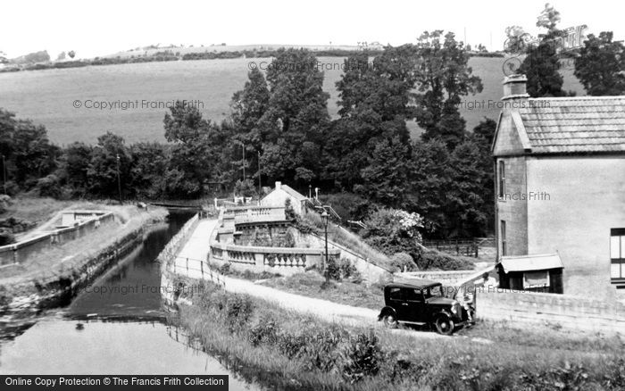 Photo of Avoncliff, the Aqueduct c1950
