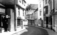 Axbridge, A Quaint Street c.1950