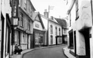 Axbridge, High Street c.1955