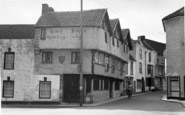 Axbridge, King John's Hunting Lodge c.1955